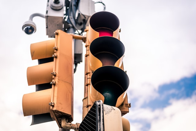 Traffic signals maintain a level of order and control on America's roadways.